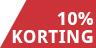 10% korting - 4